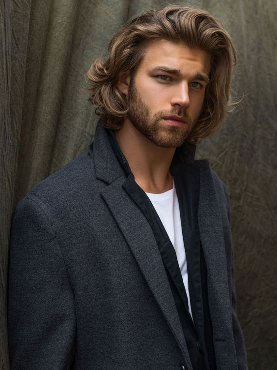 how to get wavy hair for men
