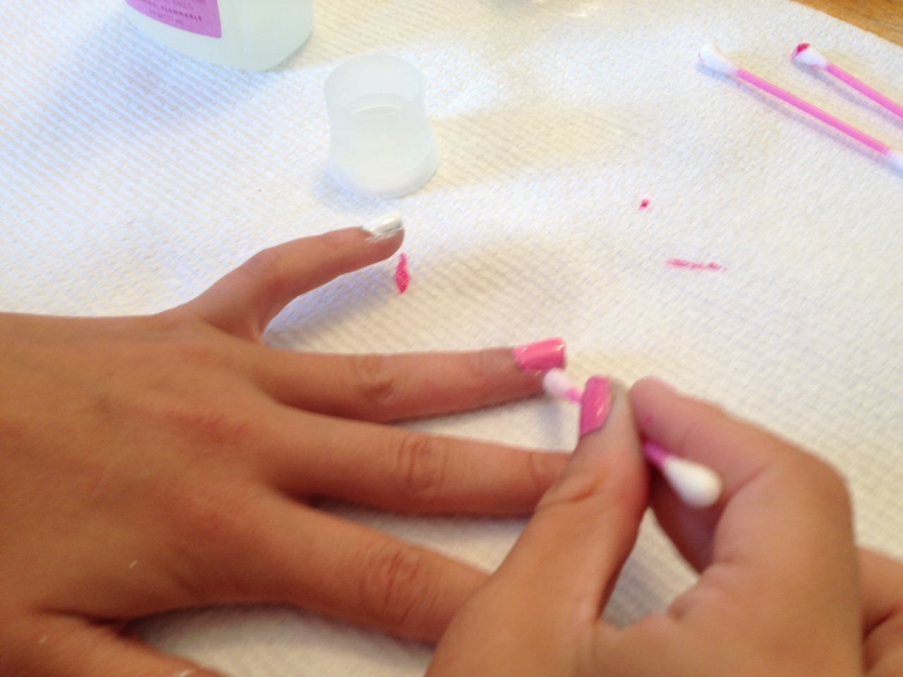 how to get chrome nails at home