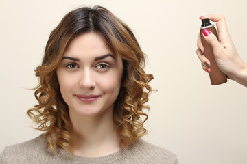 how to make hair curly overnight
