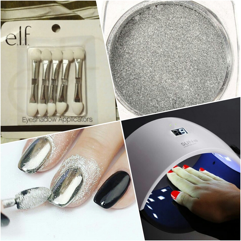 how to do chrome nails step by step