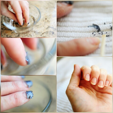 how to remove shellac nail polish with acetone
