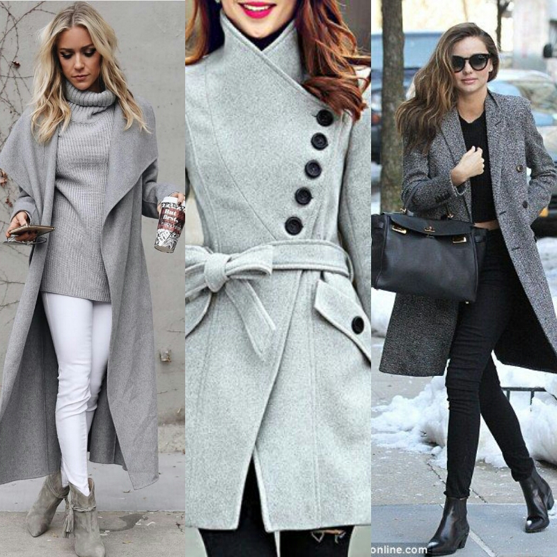 gray clothes for women