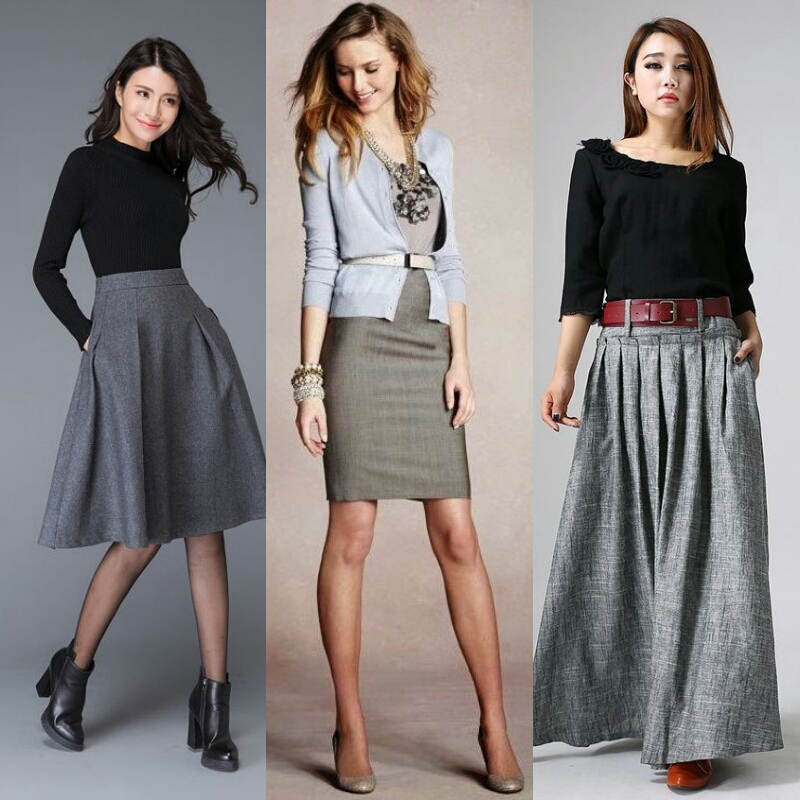 gray outfit ideas for women